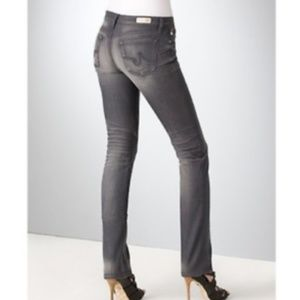 AG Premiere Skinny Straight Jeans Goldschmied Gray